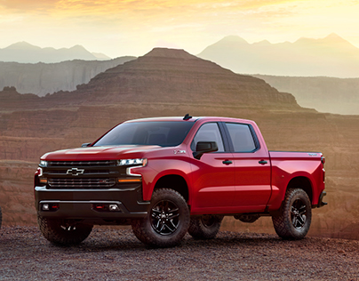 Chevrolet Silverado 2019 CGI Launch Imagery