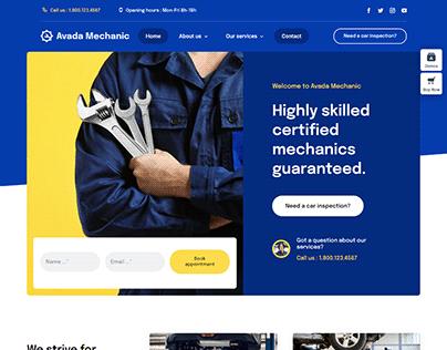 Full Mechanic Website