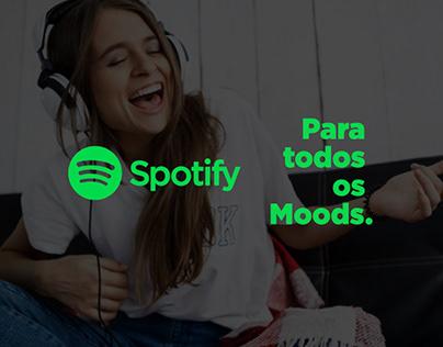 Spotify - Para Todos os Moods - Campanha 2022