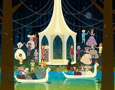 Twelve Merry Princesses