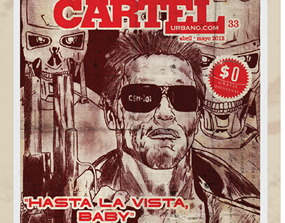 Cine Colombia - Cartel Urbano - NO A LA PIRATERÍA.
