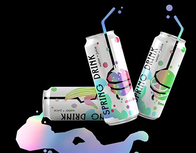 SPRING DRINK packaging concept