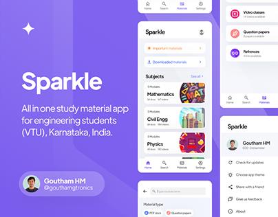 Sparkle • UIUX Design