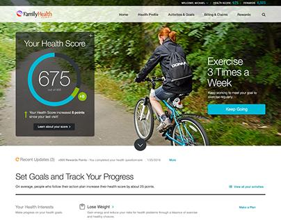 HealthMine Health Tracker Application