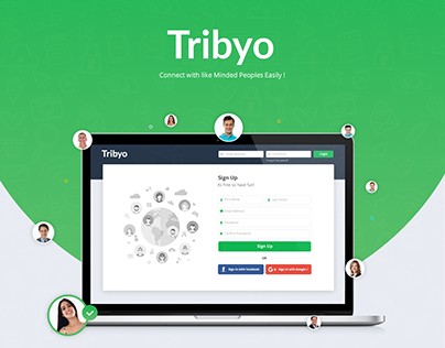Social Networking App UI/UX Design