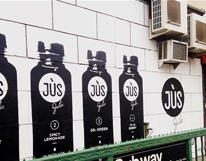 Jus by Julie Mural in Brooklyn, NY