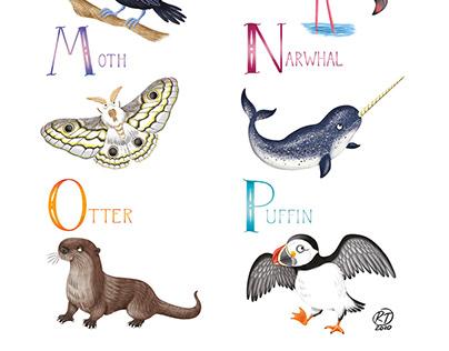 Animal Alphabet-part 2