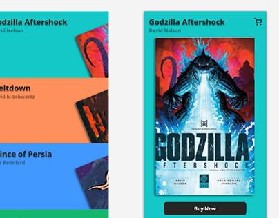 Online Book Store Mockup