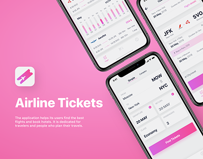 Airline Tickets - Booking Flight app
