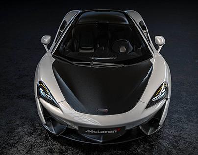 Rendering / McLaren 570S
