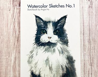 Watercolor Sketches No. 1