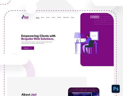 Web Solutions Portfolio Design
