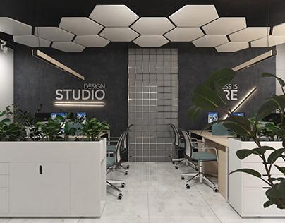 Office Interior, The Studio