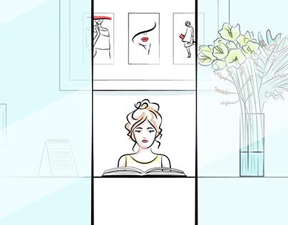 Fashion animation