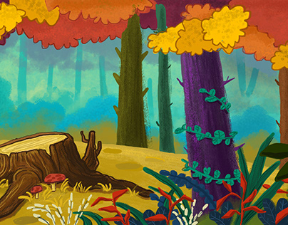 Fall -background animation-