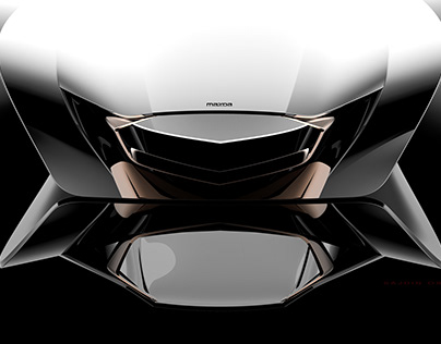 Mazda concept sculpture
