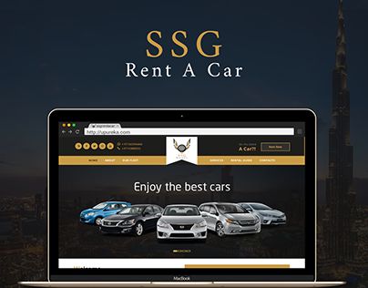 SSG Rent A Car Website