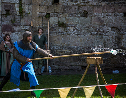 Chepstow Castle - William Marshal Tournament