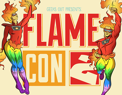 Flame Con Visual ID