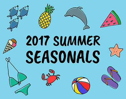 Town and Country: 2017 Summer Seasonals