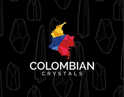 Colombian Crystals Branding and Web Design