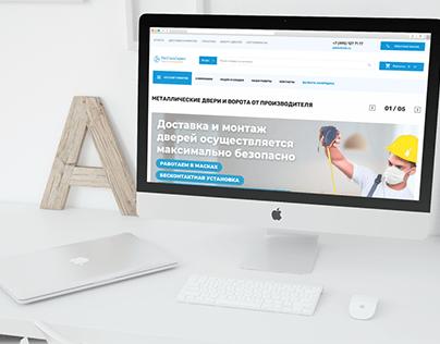 RosStalService   Web design