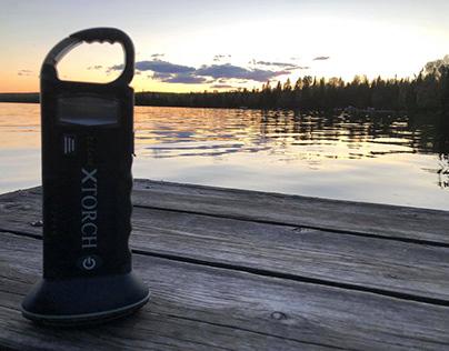XTorch: Solar-powered Lantern