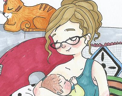 Motherhood, a personal project