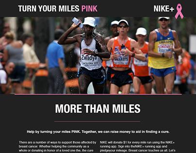 Nike Landing Page & App