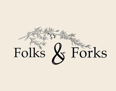 Folks & Forks: identité d'entreprise