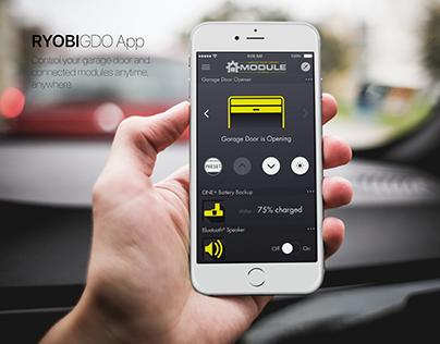 RYOBI GDO App