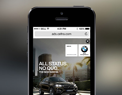 BMW X6 showcase