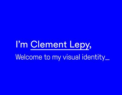 Clement Lepy : Visual Identity 2017