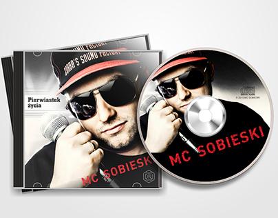 "Album CD cover ""Pierwiastek życia"""