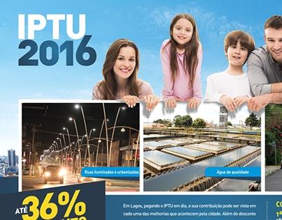 Campanha Institucional PREFEITURA DE LAGES