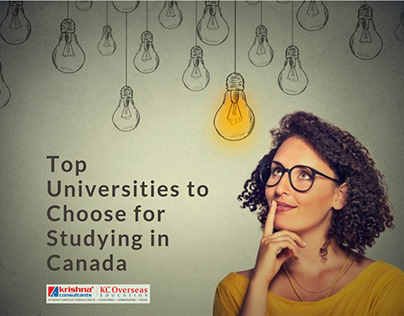Top Universities to Choose for Studying in Canada
