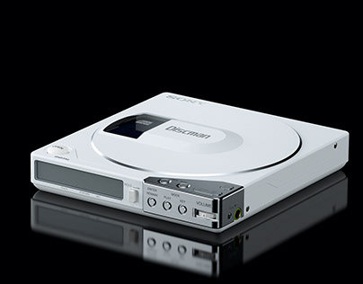 ▼▲ Once In A While Renders № 70 Sony Discman D-150