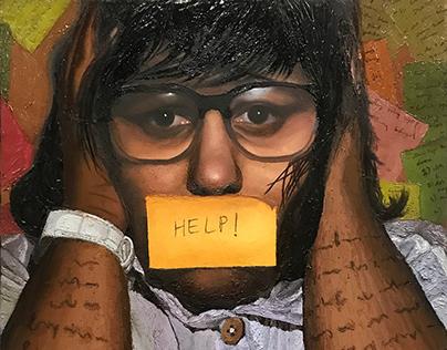 Concept Portrait Painting