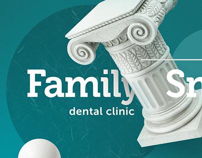 Dentistry website redesign Family Smile