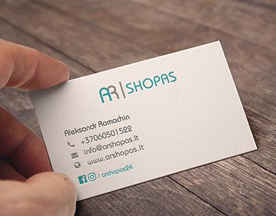 Arshopas Business Card