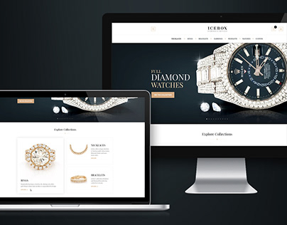 IceBox: Retina ready website redesign