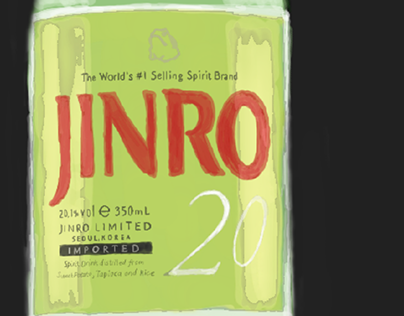 A Bottle Of Jinro.