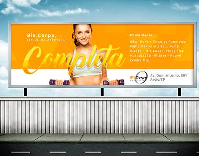 Bio Corpo Academia • Campanha e Redes Sociais.