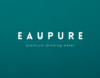 EauPure Logo Design