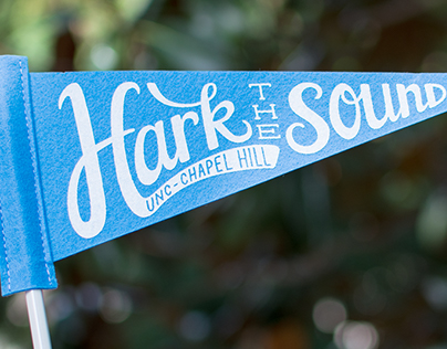Hark the Sound Mini Felt Pennant