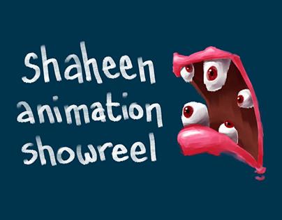 Shaheen Animation Showreel