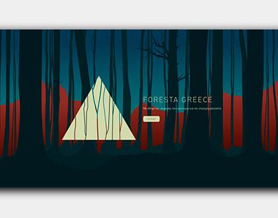 Foresta Greece Website