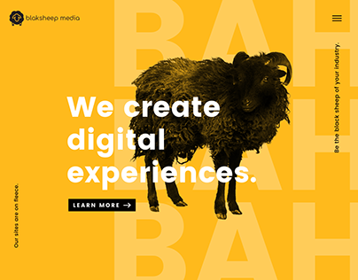 Blaksheep Media Website