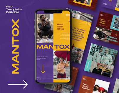 MANTOX Instagram Template