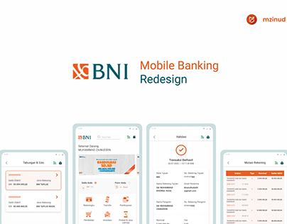 BNI Mobile Banking Redesign